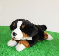 bernese mountain dogs - Cute Plush Baby Toy Store Pillow Stuffed Animals Burr Martinez Mountain Dog Big Toy Gift Simulation Bernese Mountain Dog
