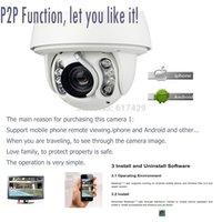 audio compression - CCTV ip camera p MP IP IR m PTZ camera auto tracking security camera x support P2P ONVIF with audio compression cam