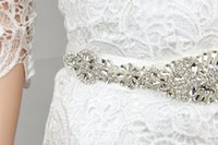 Wholesale Wedding sash bridal belt rhinestone sash bridal ribbon sash Bridal Crystal sash bridal accessories bridal belt