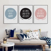 big life quotes - Modern Nordic Motivational Quote A4 Canvas Art Print Poster Big Typography Wall Picture Living Room Home Decor Painting No Frame