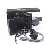 Wholesale 1PCS Smart Original KODI MXQ android TV BOX Amlogic S805 Quad Core Android TV BOX