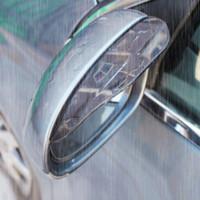 Wholesale 1Pair Car Styling Universal Rain Shield Flexible Peucine Car Rear Mirror Guard Rearview Mirror Rain Shade Auto Rainproof Eyebrow
