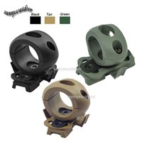Wholesale Outdoor Airsoft Paintball Shooting Gear Tactical Airsoft Fast Helmet Accessory inch Flashlight Clamp for Tactical Helmtet
