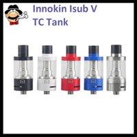 Wholesale Authentic Innokin iSubV Vortex Tank ml Capacity Top Refilling Airflow Control iSub V Tank VS Eleaf Lyche VS Geek Vape Griffin