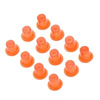 Wholesale 100pcs Tattoo Ink Cap Cups Tattooing Plastic Red Body Art Art Ink Cups Red Cups for Tattoo