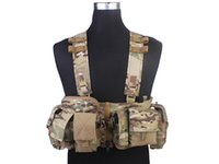 Wholesale Combat Chest Rig UW Gen V Split Front MF Style EMERSON Ammo Vest Airsoft Painball Army Hunting Shooting Gear MC
