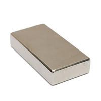Wholesale Best Promotion Neodymium Block Magnet X X mm N52 Very Powerful NEO Magnets DIY MRO Cuboid Magnet Block Rare Earth