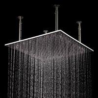 big rain shower - Enjoy Pleasant Shower inch Stainless Steel Material Ceiling Big Rain Shower Head Brushed Showerhead