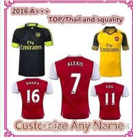 arsenal online - Discount Arsenalsl Soccer Jerseys Online ALEXIS Soccer Jersey Red Blue Yellow Cheap arsenal OZIL WALCOTT soccer jersey Prices