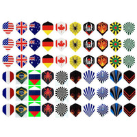 Wholesale PET darts flights leisure sports dart tail leaf Dart wings