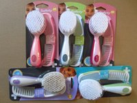 Wholesale Spot American hospital recommended st Safety baby care comb brush set brush combination set