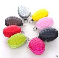 Wholesale men women Key Wallets Multifunction Grenade Wallets Coin Purse Essential package fashion