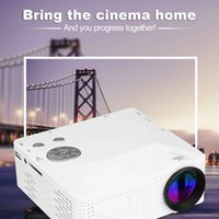 Wholesale USA Stock BL P HD Mini Portable LED Cinema Home Theater Projector AV VGA USB SD HDMI LCD Projectors