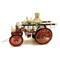 american car engine - 1 american fire engine Retro classic cars model Classic collection car model