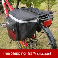 Wholesale New Cycling Bicycle Accessories Waterproof Saddle Bag Duffle Bicycle Bag Rear Bike Pannier Bicycle Bags Cycling Bicycle Bag