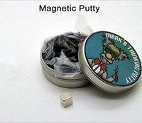 Wholesale Magnetic plasticine rubber mud magnetic silly putty Magnet non toxic creative toys New kids toys Magnetic plasticine gift
