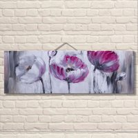 acrylic panel suppliers - China Supplier the Most Beautiful Abstract Canvas Arts Acrylic Flower Oil Paintings for Bedroom Decoration High Quality