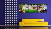 art estates - Original US High tech HD Print Oil Painting Art On Canvas Wine Estate panels set Unframed