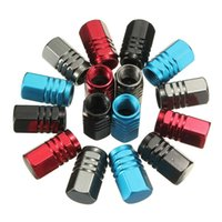 Wholesale 4pcs High Quality Auto Truck Motorcycle Bike Wheel Truck Valve Stem Dust Tire Caps Cover