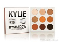 Wholesale Pre sale new kylie Kyshadow pressed powder eye shadow palette the Bronze Palette Kyshadow Kit Kylie Cosmetic colors