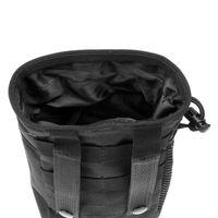 bag dump - 20x14x9cm dimensions Tactical Outdoor mini Stuff Sacks Bag nylon Paintball Hunting Folding Pouch Recovery Dump Pouch