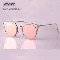 Wholesale New Summer Composit Sunglasses Steampunk Fashion Retro Sunglasses Oculos De Sol UV protect Sun glasses Women Brand Designer with case