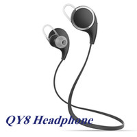 android wireless headphones - QY8 Earphone V4 Wireless Bluetooth Headphone Mini Sport Stereo Headset In Ear Bluetooth Headphone For Iphone S Android Retail box EAR197