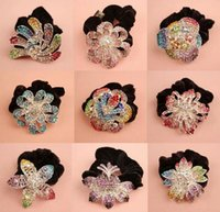Wholesale high quality hair jewelry ring Hair rope headbands pageantflower hair clips ladies diamond hair band Hair