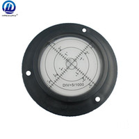 Wholesale HACCURY mm Round bubble level for Construction Machinery Circular bubble level with Mounting Holes