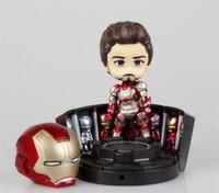 anthony action - Donnatoyfirm Q Version Nendoroid Iron Man Moive Figure cm Anthony Edward Tony Stark Action Figure