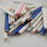 Wholesale hello kitty type mixcolors Nail Art Fimo Canes Rods Decorations Sticker d hello kitty nail art
