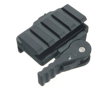 Wholesale Aluminum Compact Tactical QD Quick Release Mount Adapter Slots Fit mm Picatinny Weaver Rail Base