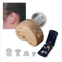 Wholesale Behind Ear Hearing Aids Amplifier Adjustable Tone Hearing Aids Aid Ear Noise Reduction
