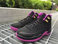 Cheap Perfect Quality New Arrival Top Quality Retro Purple charm lady 12 Lovers match between 8 men and women Basketball Shoes Casual walking