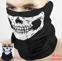 Wholesale Skull Mask for Motorcycle Armors Mask of Moto Accessory Seamless Skull Scarf in Outdoor Bike Riding mm Keep Warm Wind