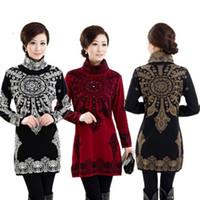 basic sweater knitting pattern free - women s cashmere sweater medium long plus size floral pattern sweater one piece dress basic shirt S XXXL