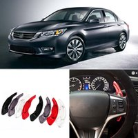 accord alloy - Can Change car styling New Alloy Add On Steering Wheel DSG Paddle Shifters Extension For Honda Accord