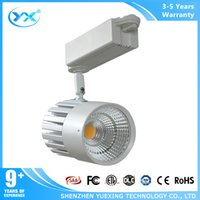 Wholesale Shenzhen YueXing factory Dimmable led light w w wifi led ceiling track lighting black and white