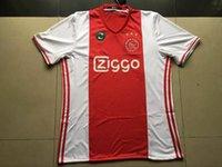 Calidad de Tailandia Ajax casa camiseta de fútbol 2016-2017 ajax camisetas rojas 16-17 ajax footall fútbol camiseta de fútbol Ajax Jersey Jersey