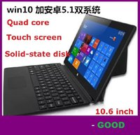 Wholesale 10 Inch Windows OS10 Tablet PC in Walknbook G G Quad Core Intel Laptop with Keyboard factory