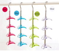 Wholesale Rotating Tie Rack Bags Ties Belts Storage Holder Racks can be Rotated Colors Radian design Home Storage