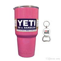 best insulated coolers - Best sell YETI oz Cup Cooler YETI Rambler Tumbler For Travel Vehicle Beer YETI Mug Tumblerful Bilayer Vacuum Insulated Stainless Steel