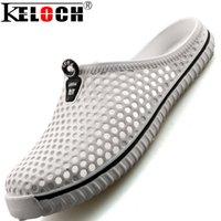 garden clogs shoes - Keloch Beach Sandals Men amp Women Summer Style Clogs Models Hole Mules Shoes Women Garden Sildes Flat Slippers Shoes Men