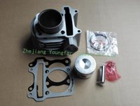 Wholesale Scooter ATV GY6 QMI mm Cylinder set Cylinder kit Top End Kit Cylinder Piston set Piston rings Gaskets