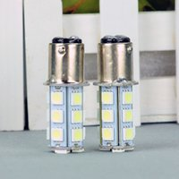 Wholesale LED Car Light Bulb T25 S25 BA15S SMD V White LED Bulb Dome Tail Stop Parking Gauge Light Universal LED Lamp