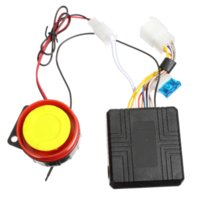 alarms compacts - 12v Universal Motorcycle Motorbike Scooter Compact Security Alarm System Remote Control Engine Start for Suzuki Honda Yamaha