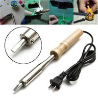 Wholesale 150W V Soldering Iron Soldering Solder Flat Nozzle Chisel Tip Repair Tool US Plug