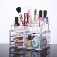 Eco Friendly best choice displays - 2016 New Acrylic Case Acrylic Makeup and Jewelry Organizer Drawers Cosmetic Storage Display Box YOUR BEST CHOICE