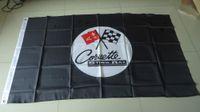 advertising display - car Advertising display flag corvette stingay flag corvette stingay banner X150CM size polyster