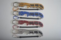 Wholesale Hot Fishing Pliers Casting Fishing Pliers Machete Control Fish Clamp With Spring Loaded Line Fishing Knife Fishing Crimping Pliers